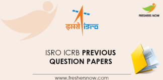 ISRO-ICRB-Previous-Question-Papers