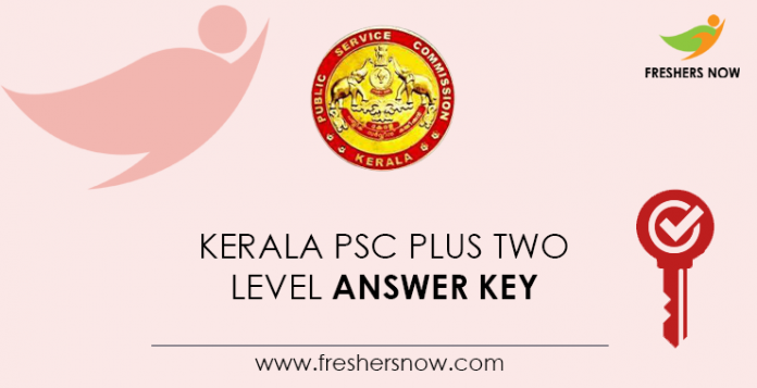 Kerala-PSC-Plus-Two-Level-Answer-Key