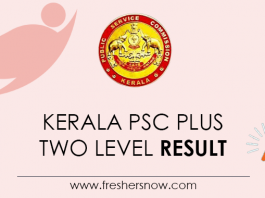 Kerala-PSC-Plus-Two-Level-Result