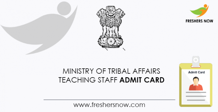 Ministry-of-Tribal-Affairs-Teaching-Staff-Admit-Card
