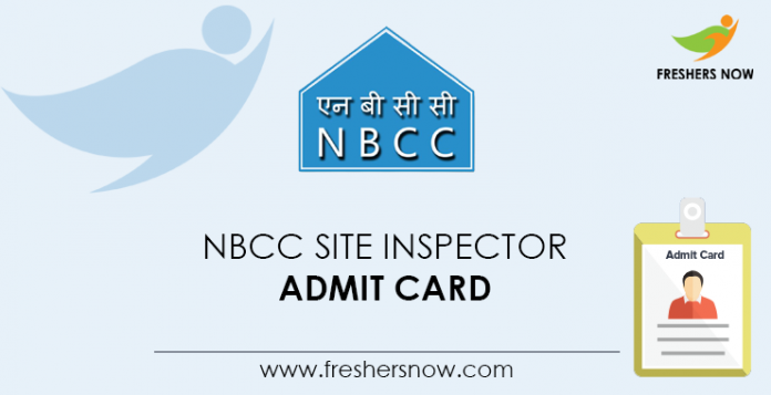 NBCC-Site-Inspector-Admit-Card