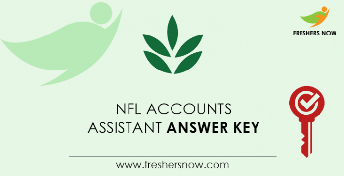 NFL-Accounts-Assistant-Answer-Key