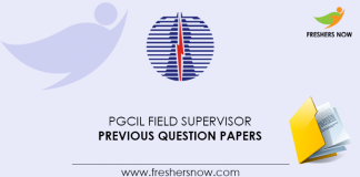PGCIL-Field-Supervisor-Previous-Question-Papers