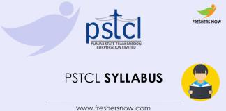 PSTCL-Syllabus