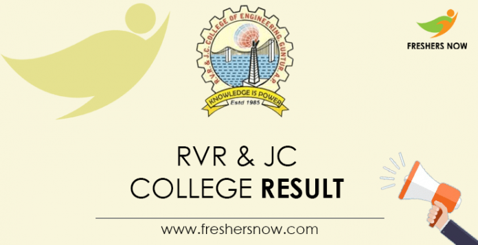RVR & JC College Result