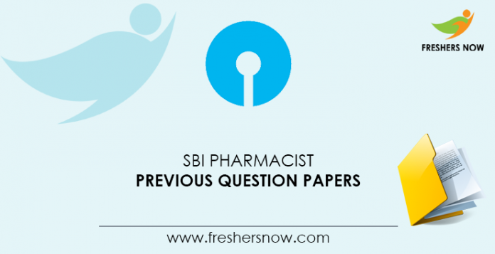 SBI-Pharmacist-Previous-Question-Papers