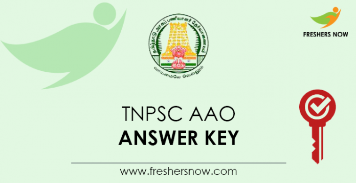TNPSC-AAO-Answer-Key