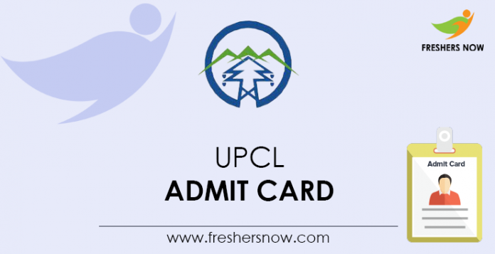 UPCL-Admit-Card