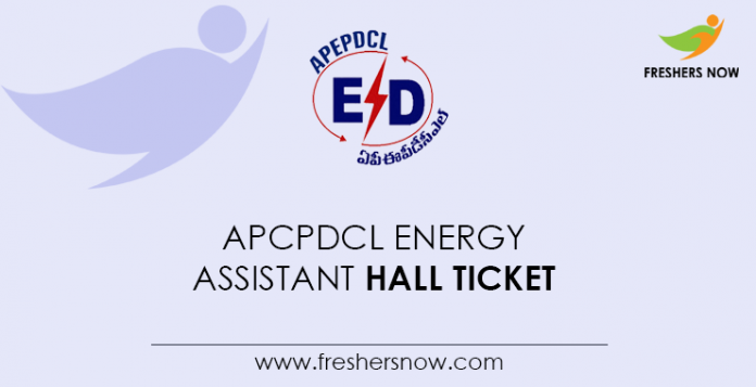 APCPDCL-Energy-Assistant-Hall-Ticket