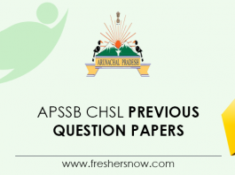 APSSB CHSL Previous Question Papers