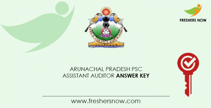 Arunachal-Pradesh-PSC-Assistant-Auditor-Answer-Key