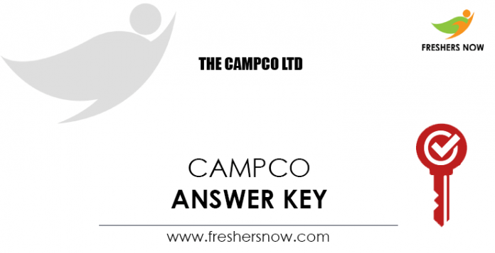 CAMPCO-Answer-Key
