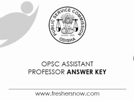 OPSC-Assistant-Professor-Answer-Key