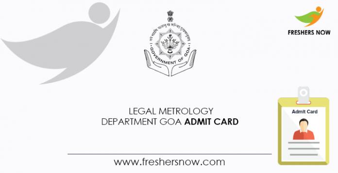 Legal-Metrology-Department-Goa-Admit-Card