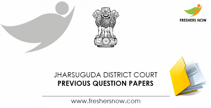 Jharsuguda-District-Court-Previous-Question-Papers