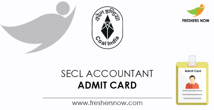 SECL-Accountant-Admit-Card