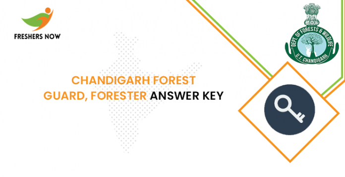 Chandigarh Forest Guard, Forester Answer Key