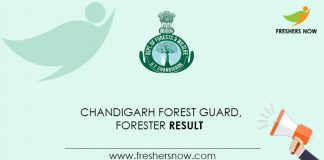 Chandigarh-Forest-Guard,-Forester-Result