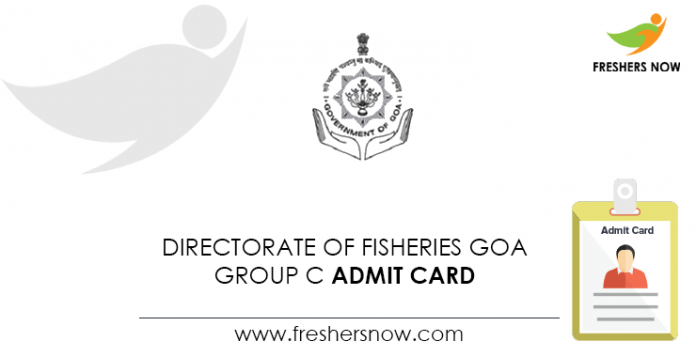 Directorate-of-Fisheries-Goa-Group-C-Admit-Card