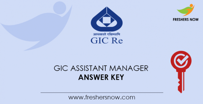 GIC-Assistant-Manager-Answer-Key
