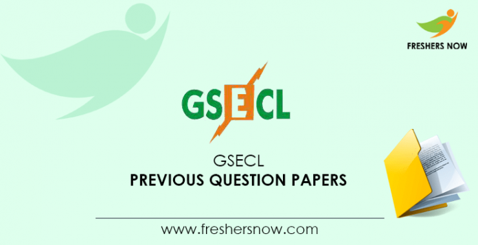 GSECL Previous Question Papers
