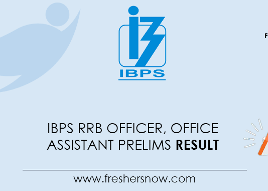 IBPS-RRB-Officer,-Office-Assistant-Prelims-Result