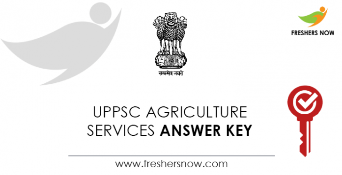 UPPSC-Agriculture-Services-Answer-Key
