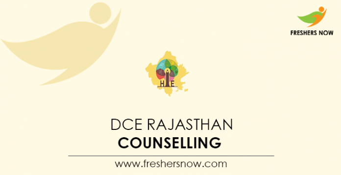 DCE Rajasthan Counselling