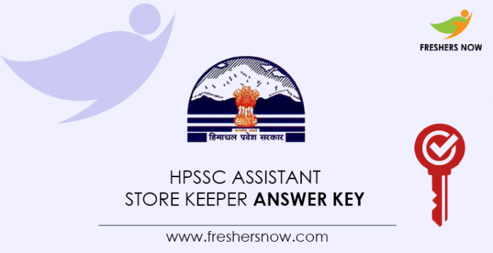 HPSSC-Assistant-Store-Keeper-Answer-Key