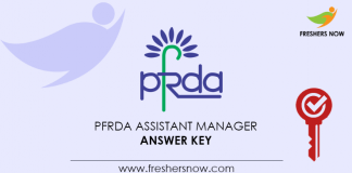 PFRDA-Assistant-Manager-Answer-Key